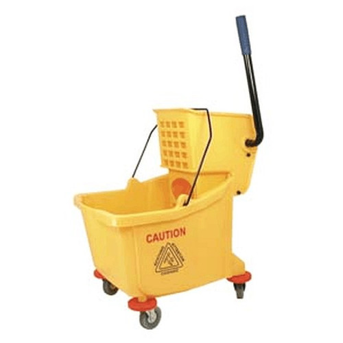 UPDATE MBK-9 Mop Bucket with Wringer 36 Qt. Yellow