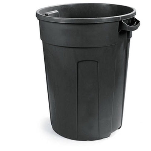 UPDATE TC-32G 32 Gallon Garbage Can Grey with Lid