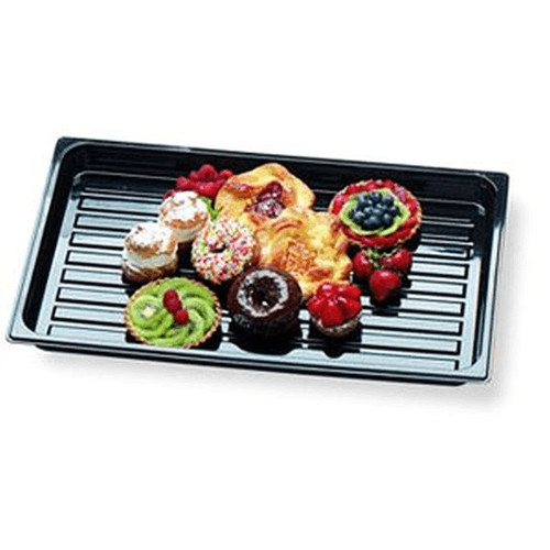 "CAMBRO DT1220CW Black Display Tray 12"" x 20"""