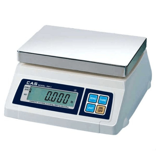 CAS SW-50 50 Lbs Stainless Portion Scale