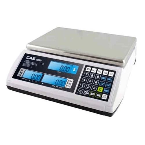 CAS S2JR30 30 Lbs Printer Price Calculating Scale