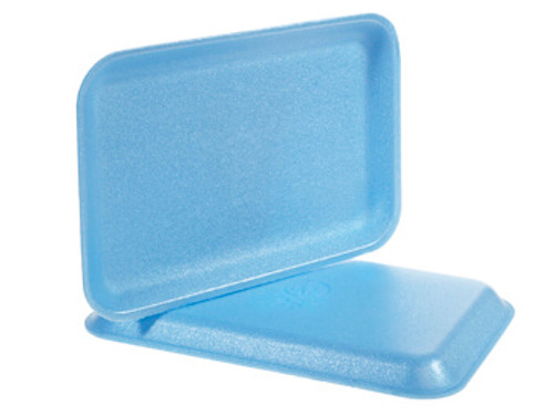 Genpak 1002 #2 Supermarket Food Tray Blue