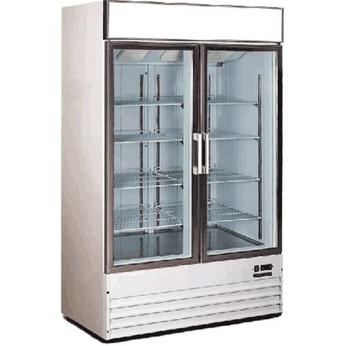 Metalfrio D768BM2F Vertical Freezer 32 Cu. Ft. 1.25HP