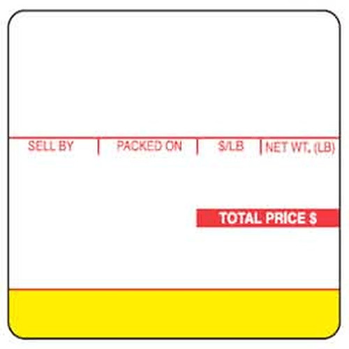 Ishida 64mm X 59mm Scale Label for Ishida Scales