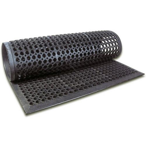 UPDATE FM-35B Black Rubber Floor Mat 36x60