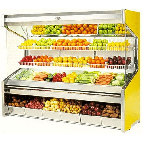 Marc Refrigeration PD-6 S/C Produce Display Case 6'