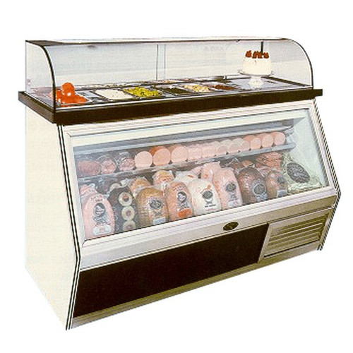 Marc Refrigeration Curved Glass Merchandiser 4'