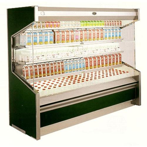 Marc Refrigeration OD-4 S/C Open Dairy Merchandiser 4'