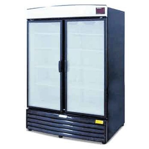 Metalfrio REB-18 Beverage Cooler 2-Sections 18 Cu.Ft.