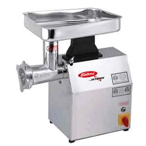 Fleetwood TC22IHD 22 Lb Stainless Steel Meat Grinder - 1.5 HP