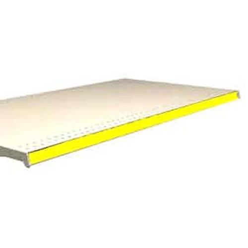 "PVC Strip Molding Yellow 1.25"" x 48"""