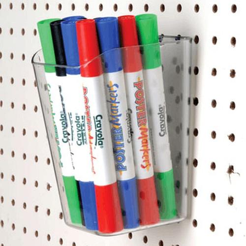 Acrylic Bin 4 x 4 for PEG Board