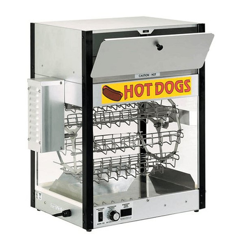 Cretors HD-ECH-1700 Hot Dog Cooker and Bun Warmer