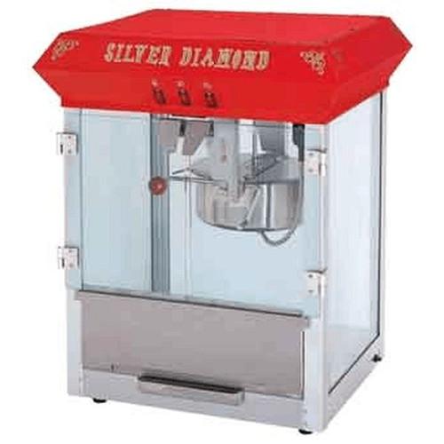 Uniworld UPCM-8E Stainless Steel Popcorn Machine 8 Oz