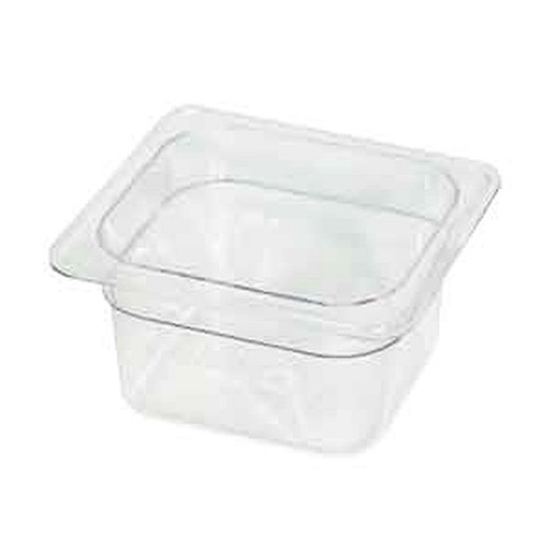 UPDATE PCP-164 SIXTH SIZE Food Pans Clear 2 qt