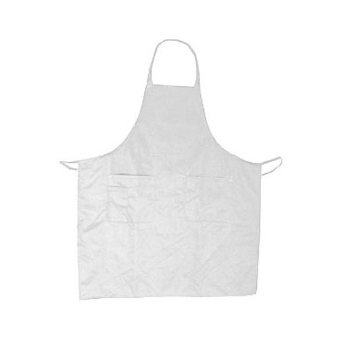 "UPDATE BAP-WH Cotton Apron 33"" x 28"" White"
