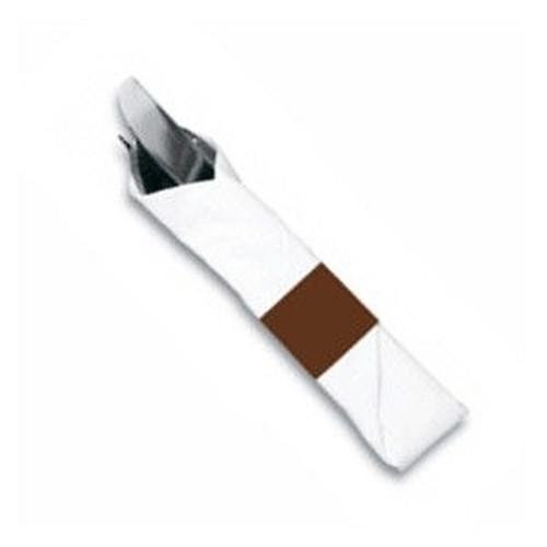 "Paper Napkin Band 1.5"" X 4.5"" Burgundy"