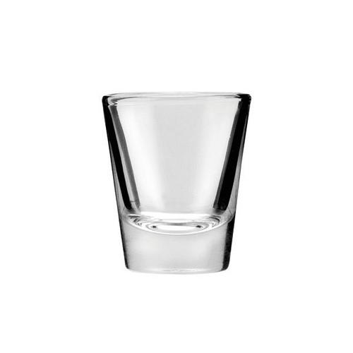 Buccaneer 3661U 1.5 Oz Whiskey Shot Plain Glass