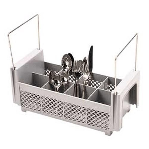 CAMBRO 8FB434 8 Comp. Flatware Basket With Handle