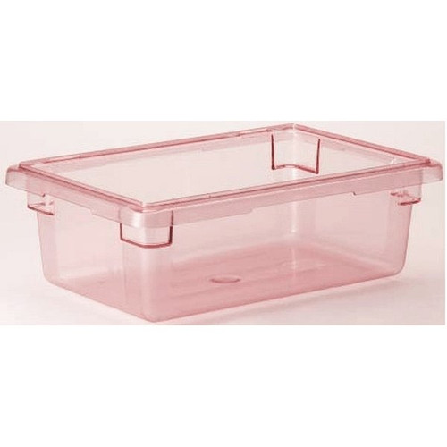 "CAMBRO 12186CW Red Food Box 12"" x 18"" x 6"""