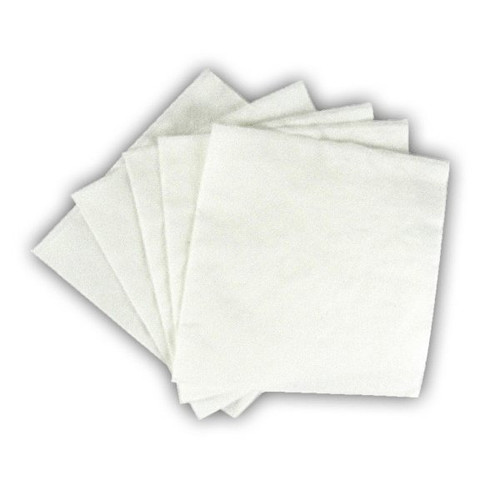 "Beverage Napkin 9""X9"" White"