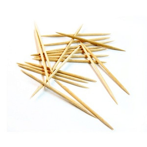 "UPDATE PC-DP 2.6"" Double Pointed Wooden Toothpicks"