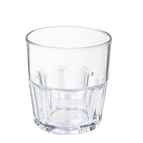 GET 9907-1-CL 7 Oz Tumbler Cup Clear