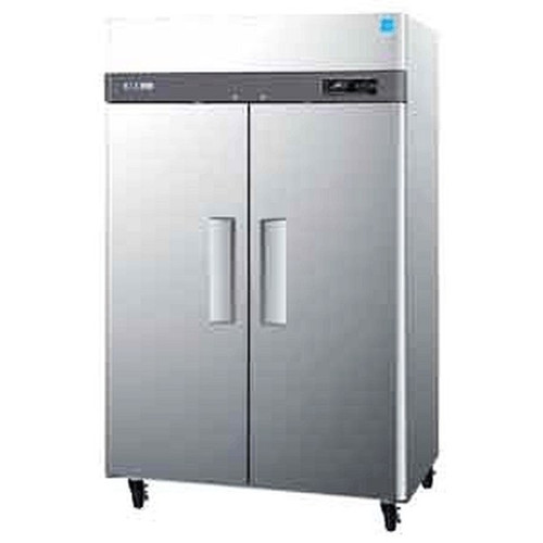 Turbo Air M3R47-2 2 Solid Door Refrigerator 47 Cu.Ft.