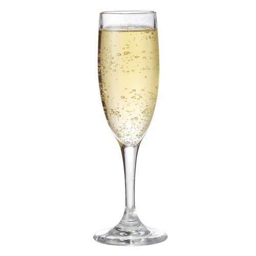 GET SW-1401-1-SAN-CL 6 Oz Champagne Glass Plastic