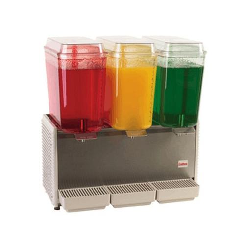Crathco D35-3 Stainless Steel Drink Dispenser 3 Bowl