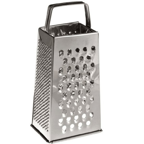 Adcraft GS-25 Four-Sided Stainless Steel Tapered Grater