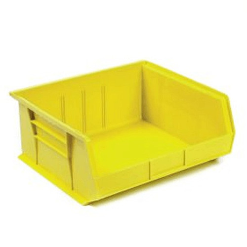 Akro Mils Stacking Bins 16.5x14.75x7 Yellow