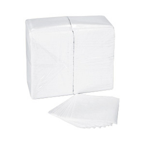 "Spring Grove 409347 Luncheon Napkin 1 Ply 11.7"" X 12"" White Full Fold"
