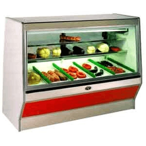 Marc Refrigeration SF-12 S/C Display Case Straight Front Glass 12'