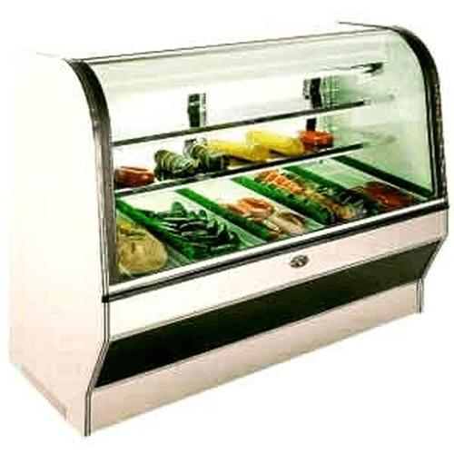 Marc Refrigeration HS-8 S/C Meat & Deli Merchandiser 8'