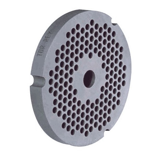 """1/4"""" Stainless Steel Grinder Plate #32 with Hub"""