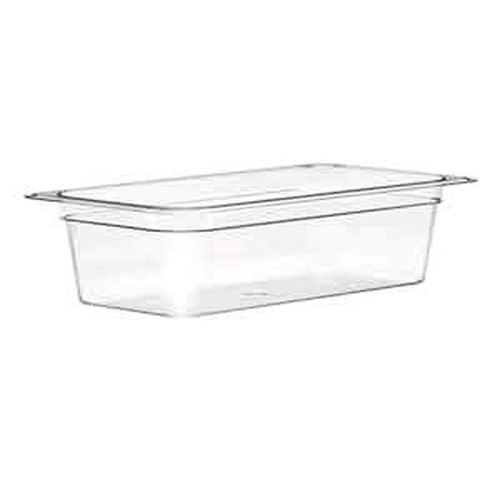 UPDATE PCP-252 FOURTH SIZE Food Pans Clear 1-7/8 qt