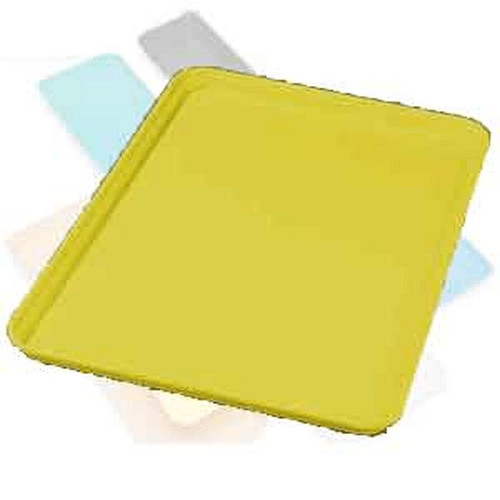 "Fiber Tray 18"" x 26"" x 1"", Yellow"