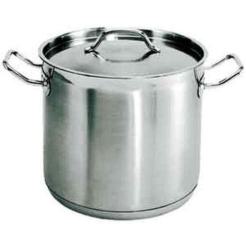 UPDATE SPS-32 Heavy Duty Stock Pot with Cover 32 qt