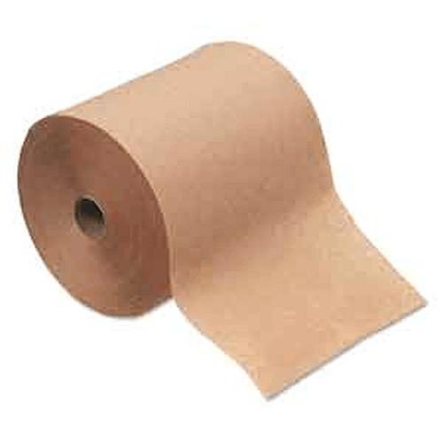"Hardwound Hand Roll Towel Natural 8"" X 350'"