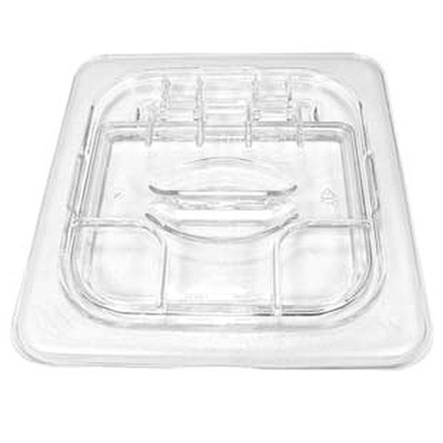 CAMBRO 60CWL135 Food Pan Clear 1/6 HINGE LID
