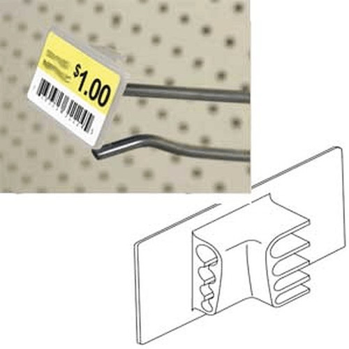 "Label Holder 2-5/8"" Rectangular for adhesive Label"