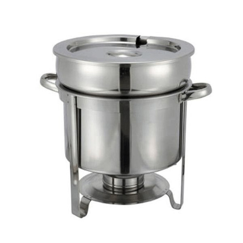 WINCO 211 Soup Warmer 11 Qt Stainless Steel