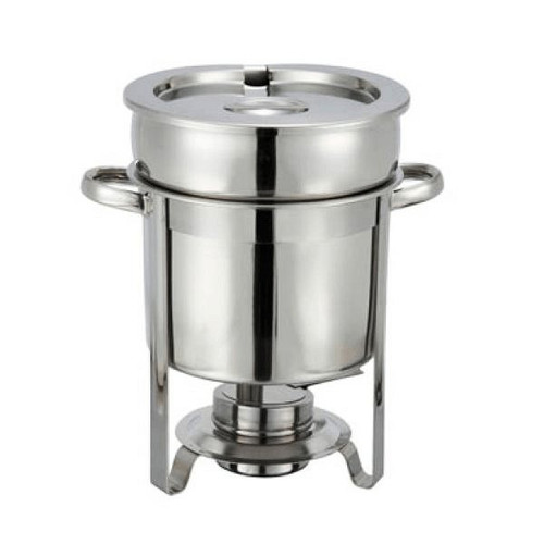 WINCO 207 Soup Warmer 7 Qt Stainless Steel