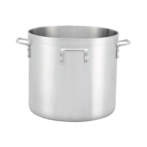 WINCO ALHP-140H 140 Qt Stock Pot with 4 handles