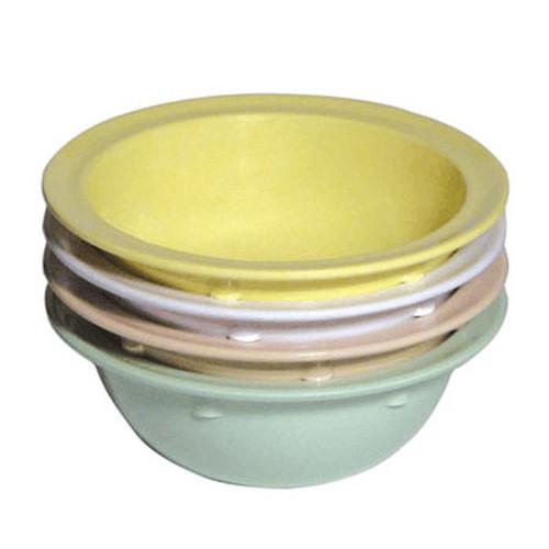 Admiral Craft MEL-BL10W Rim Soup Bowl 10 oz White