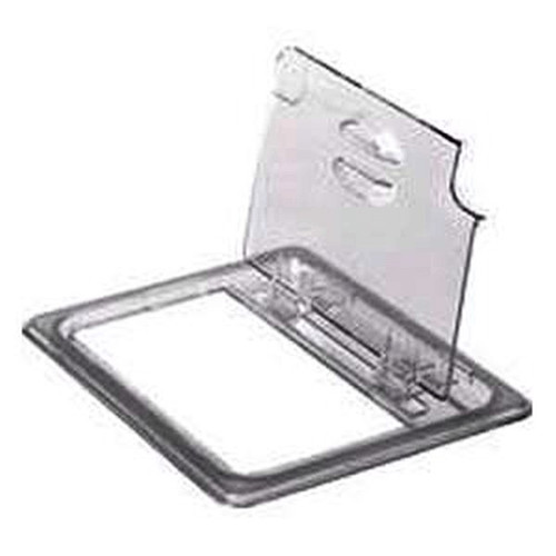 CAMBRO 60CWLN-135 Food Pan Clear 1/6 Hinge Notch