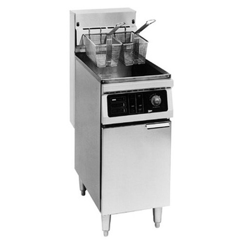 Cecilware EFS40 Electric Fryer FLOOR 40LB SS