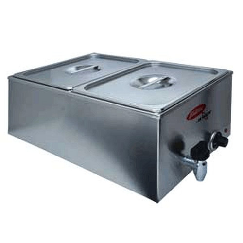 Fleetwood BFW-212 Food Warmer DOUBLE 1/2Pan