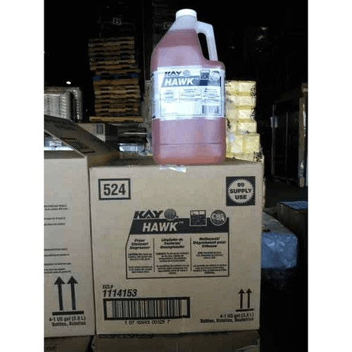 Kay Chemical Company 1114153 HAWK Fryer Cleaner / Degreaser 1 Gal.